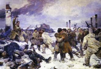 Прорыв блокады 18 января 1943 года. Серов